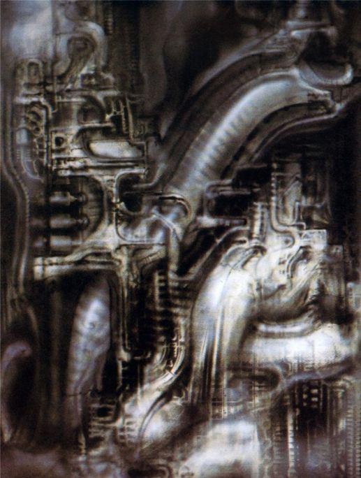 Ганс Рудольф Гигер. Биомеханический пейзаж