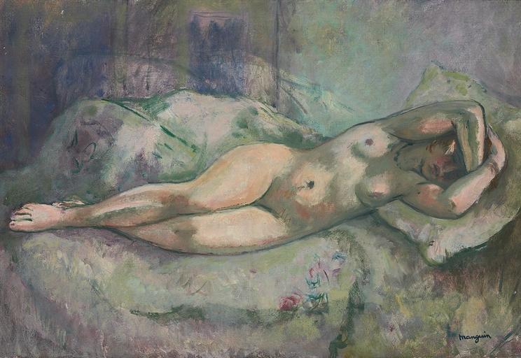 Henri Manguin. Sleeping Nude