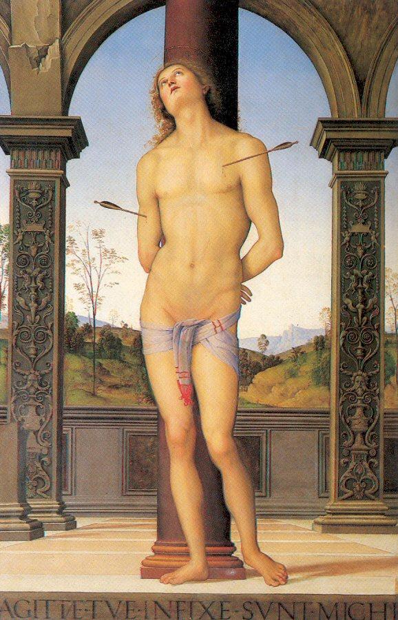 Pietro Perugino. Martyrdom