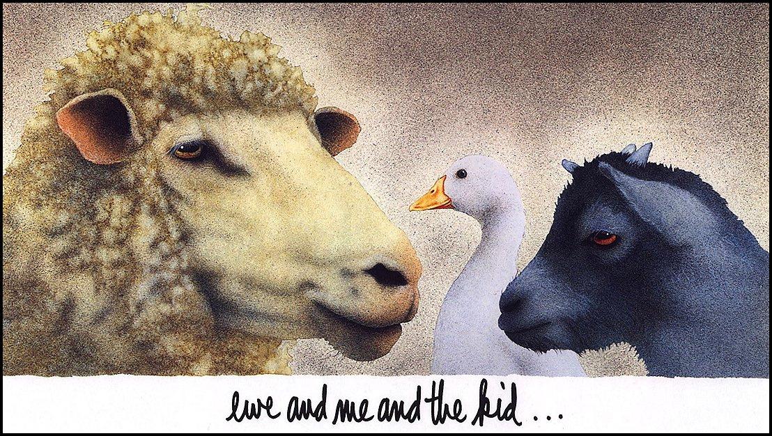 Уилл Буллас. Овца, я и малыш