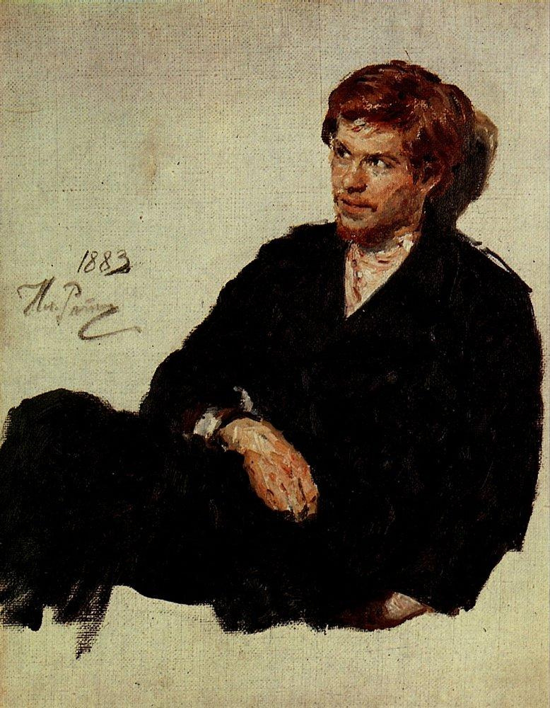 Ilya Efimovich Repin. Student-nihilist. Etude