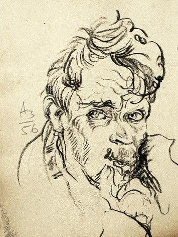 Anatoly Zverev. Self-portrait