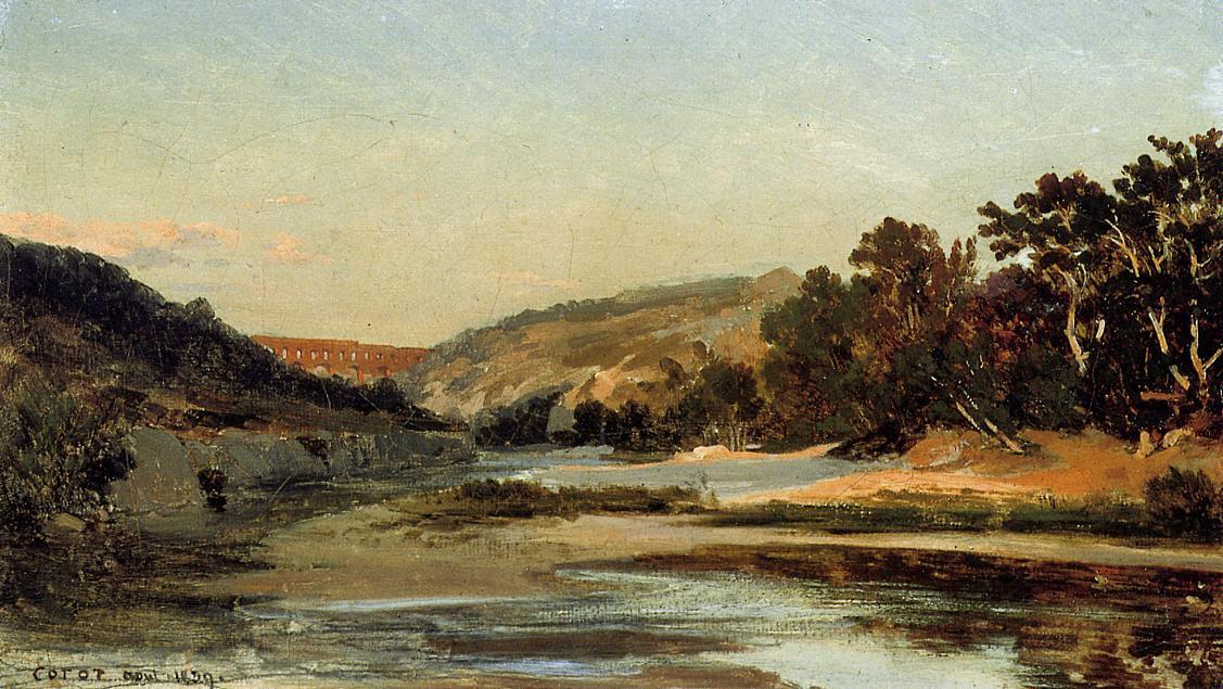 Камиль Коро. Акведук в долине