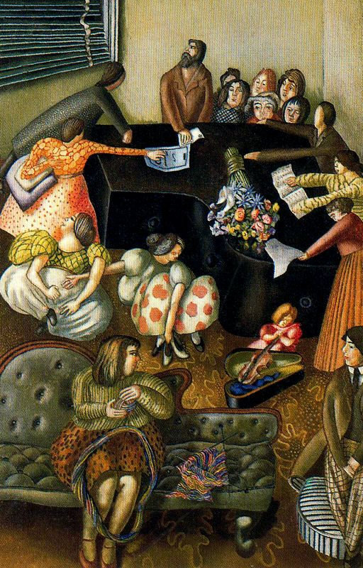 Stanley Spencer. Bouquet of flowers