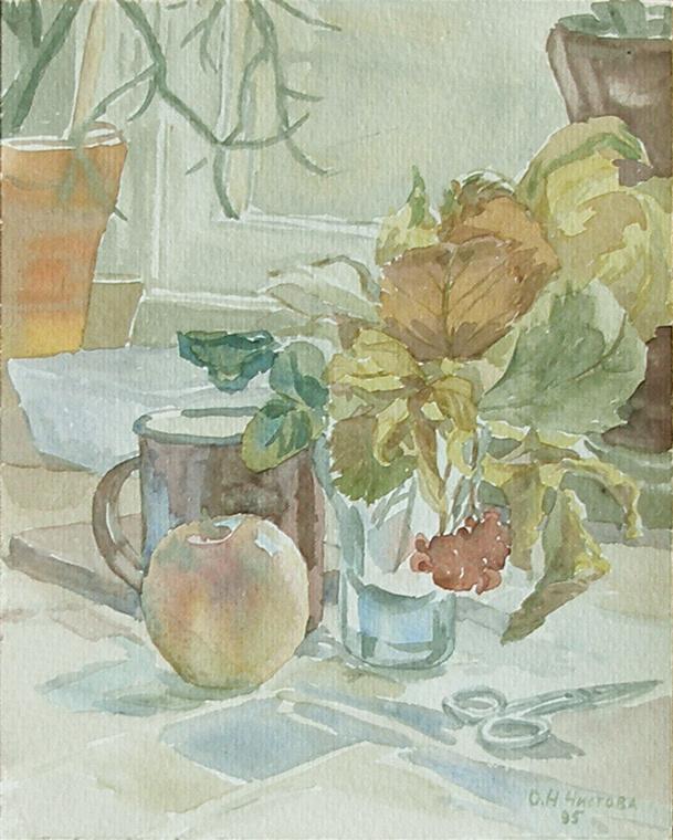 Olga Nikolaevna Chistova. Осенний этюд