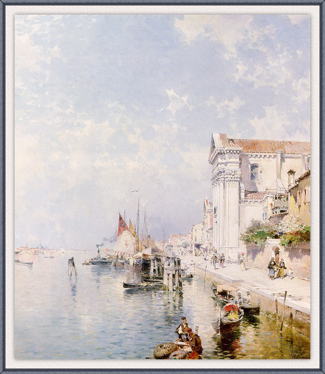 Franz Richard Unterberger. Venice
