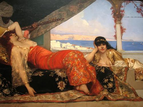 Жан-Жозеф Бенжамен Констан. Фаворитка эмира
