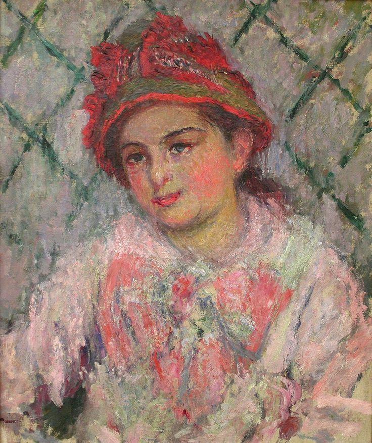 Claude Monet. Blanche Aside