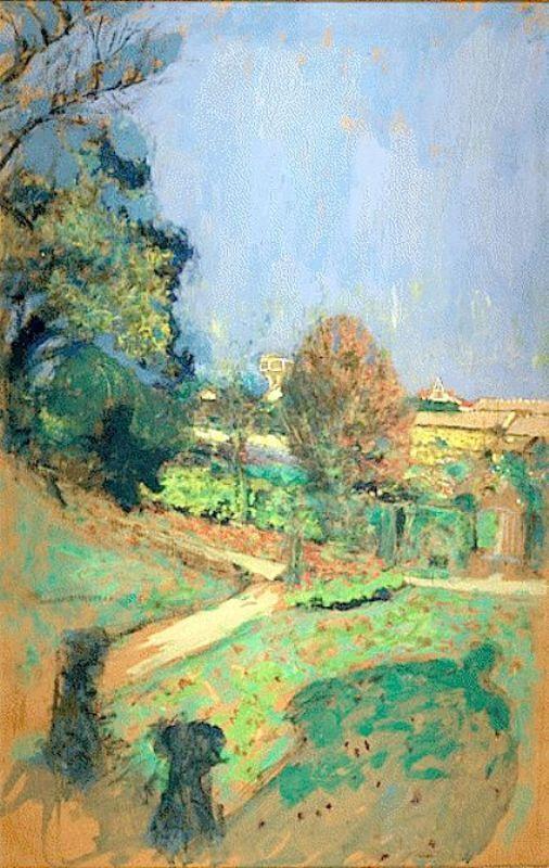 Jean Edouard Vuillard. Water tower