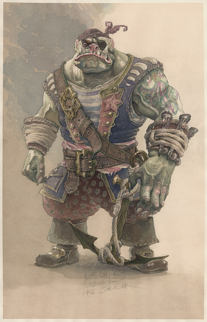 Alexander Nikolayevich Steshenko. Ork. Pirate costume