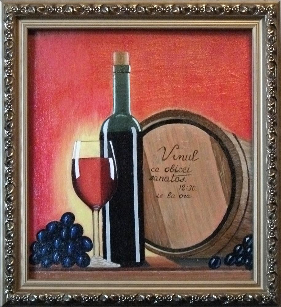 Victor Petrovich Burmin. Still life with wine # 8