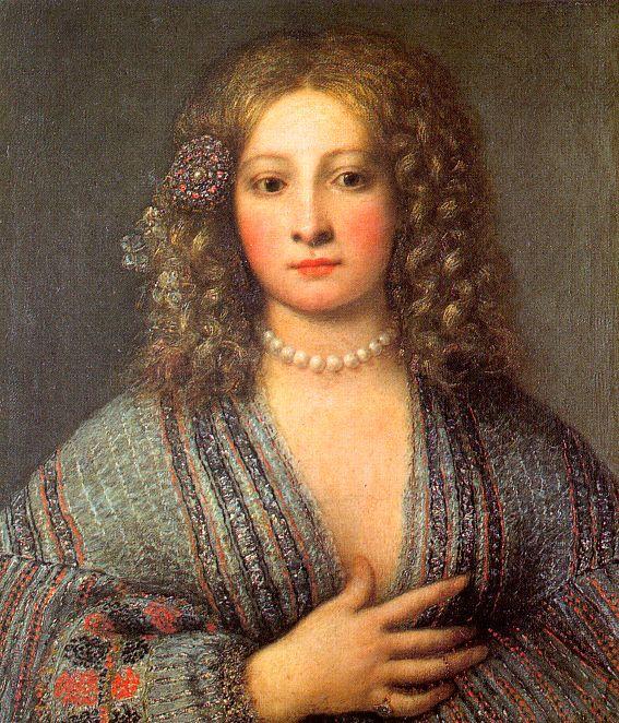 Джироламо Фопабоско. Женский портрет