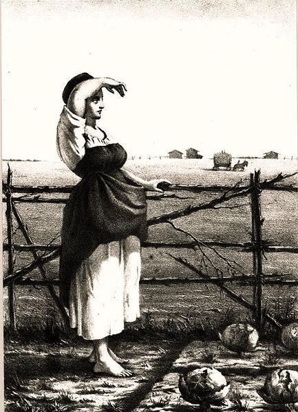 Елизавета Меркурьевна Бём (Эндаурова). Мороз — красный нос