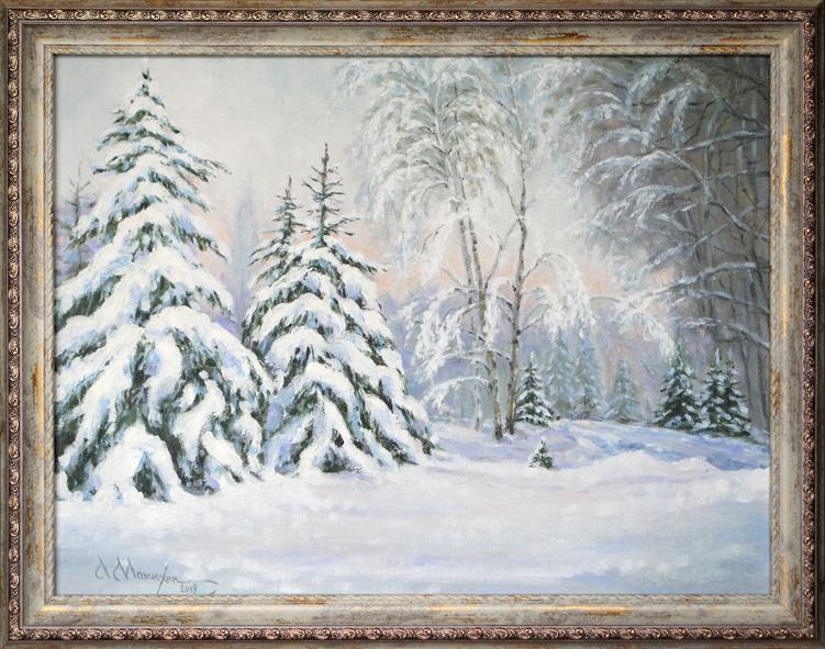 Alexander Matyukhin. Winter's tale (30x40 cm)