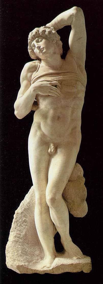 Michelangelo Buonarroti. The dying slave