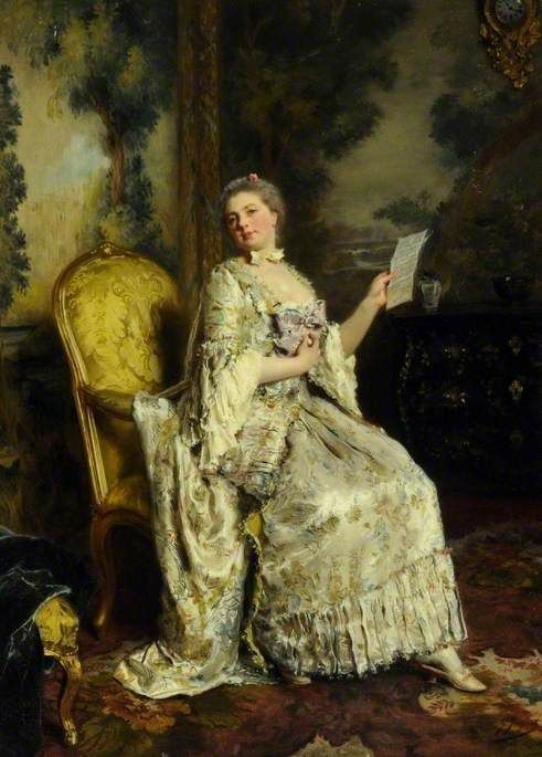 Good news by Gustave Jean Jacquet: History, Analysis & Facts