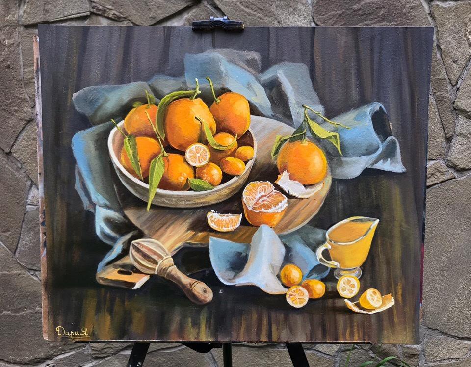 Daria Dmitrievna Polyakova. Oranges