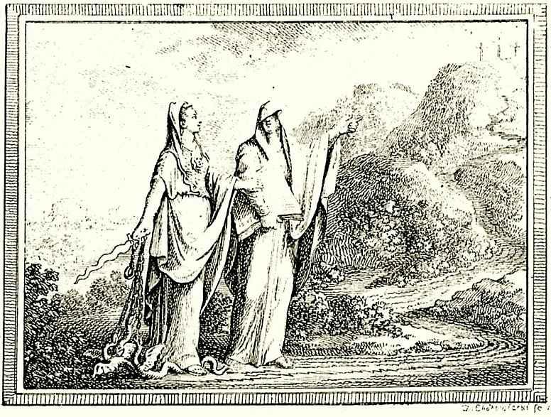 Даниэль  Николай Ходовецкий. Дух христианства