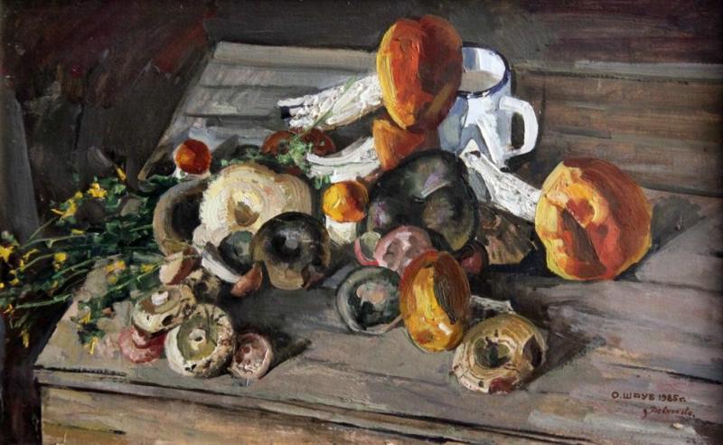 Остап Павлович Шруб. Mushrooms from Devyatkovo