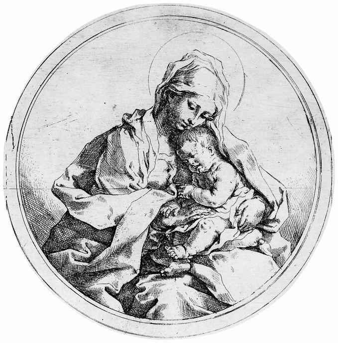 Гвидо Рени. Мадонна с младенцем Христом