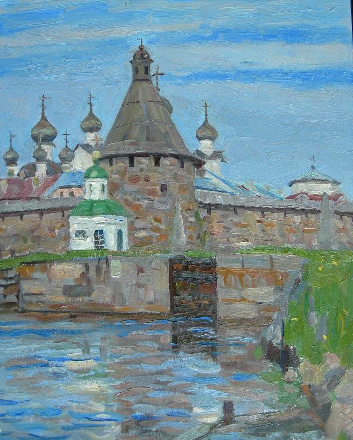 Eugene Alexandrovich Kazantsev. На Соловках.