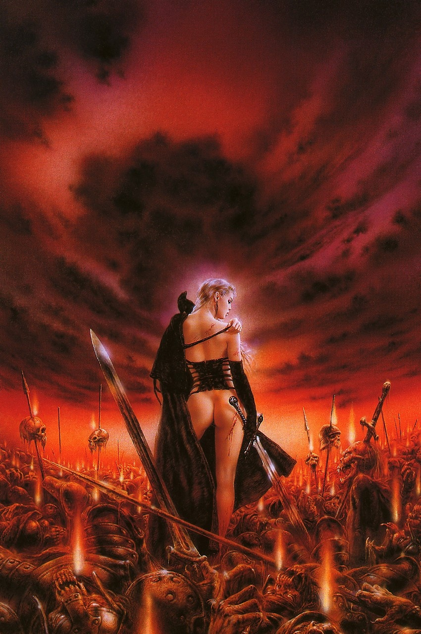Luis Royo. Seed will not germinate