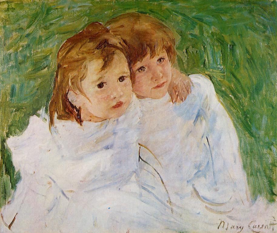 Mary Cassatt. Sisters
