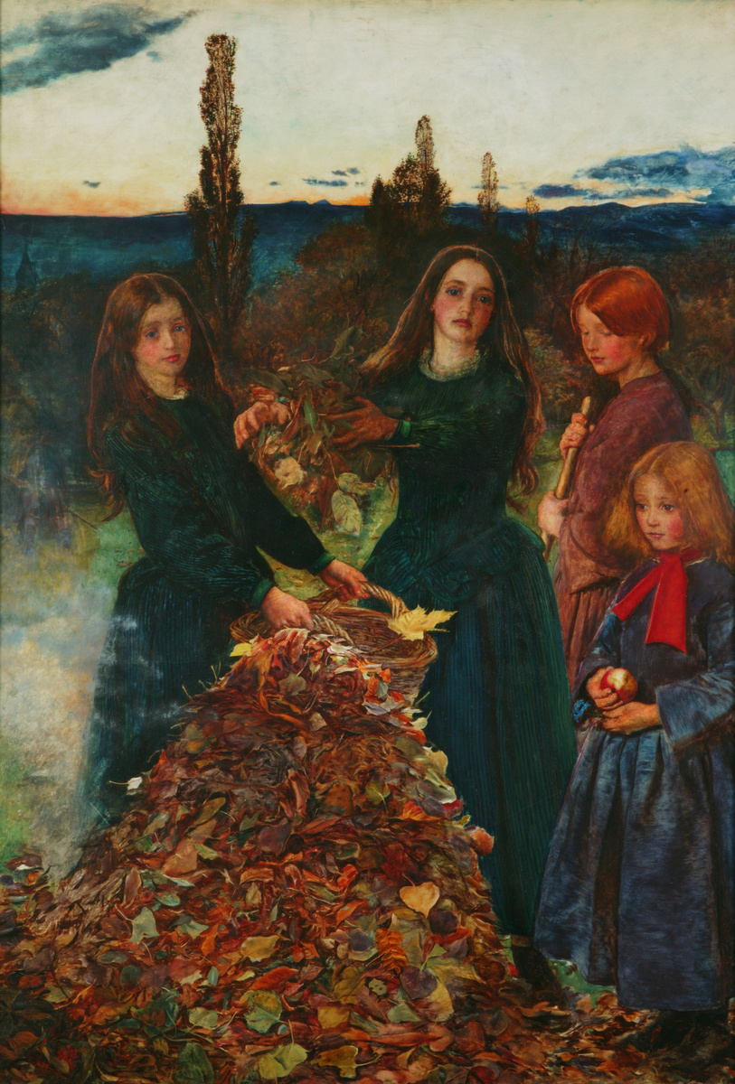 John Everett Millais. Autumn leaves
