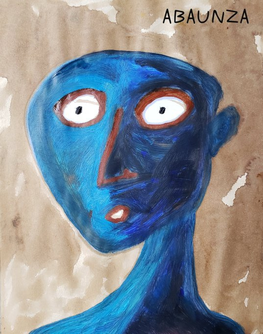 EDUARDO ABAUNZA. BLUE MAN / BLUE MAN