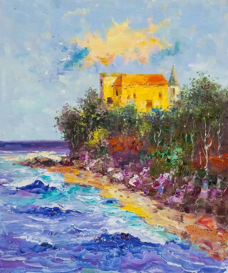 (no name). Castle by the sea