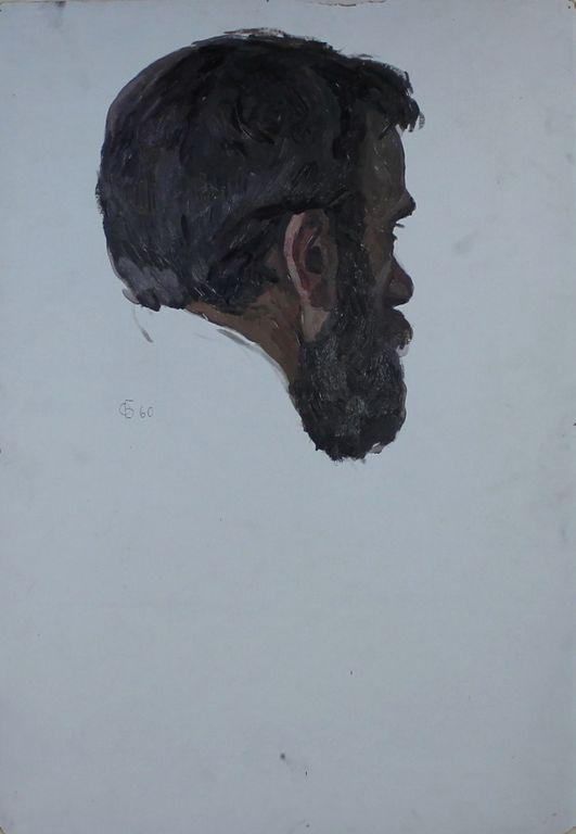 Orest Georgievich Betekhtin. The head of the artist A. Shuraev