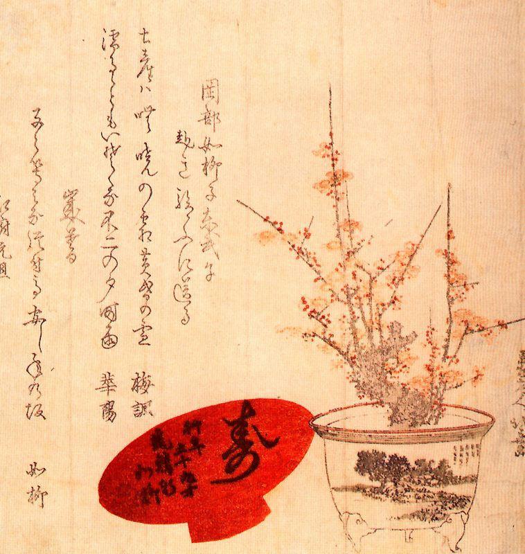 Кацусика Хокусай. Вазон