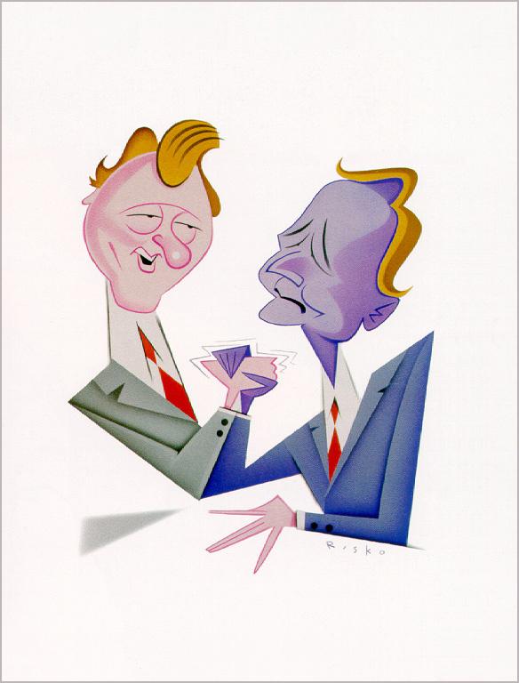 Роберт Риско. Клинтон и Буш