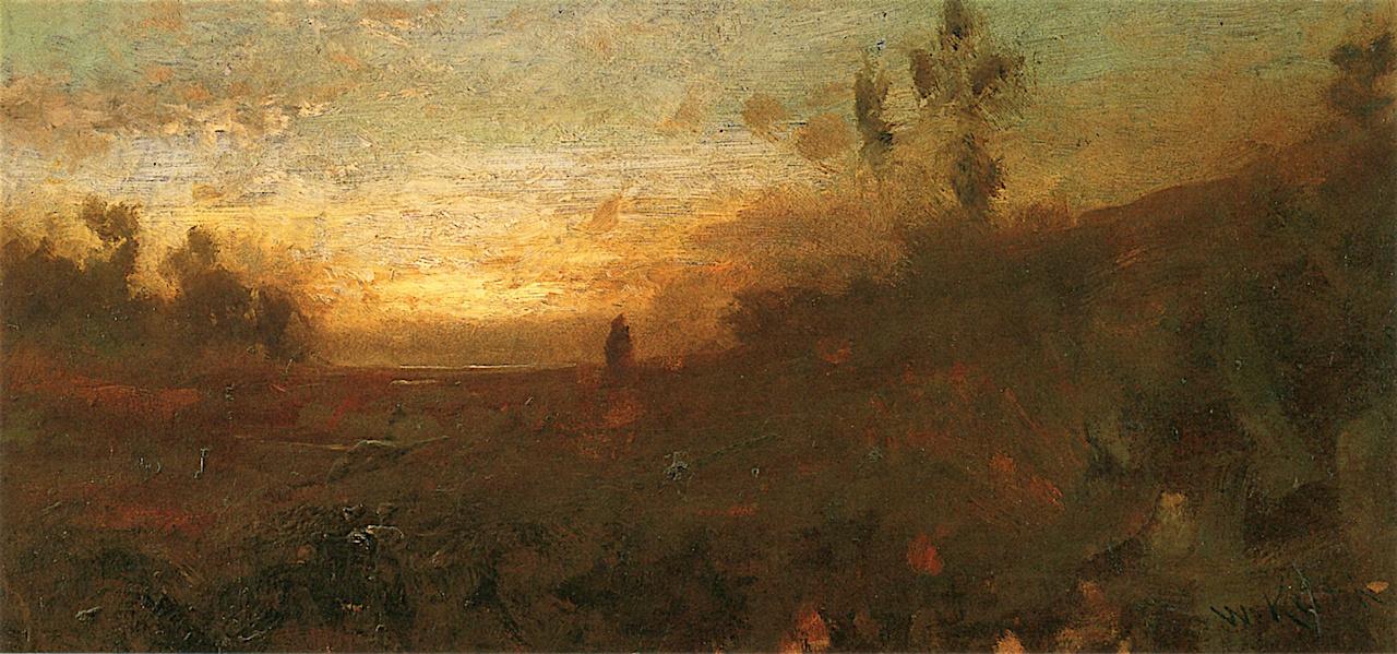 William Keith. Twilight