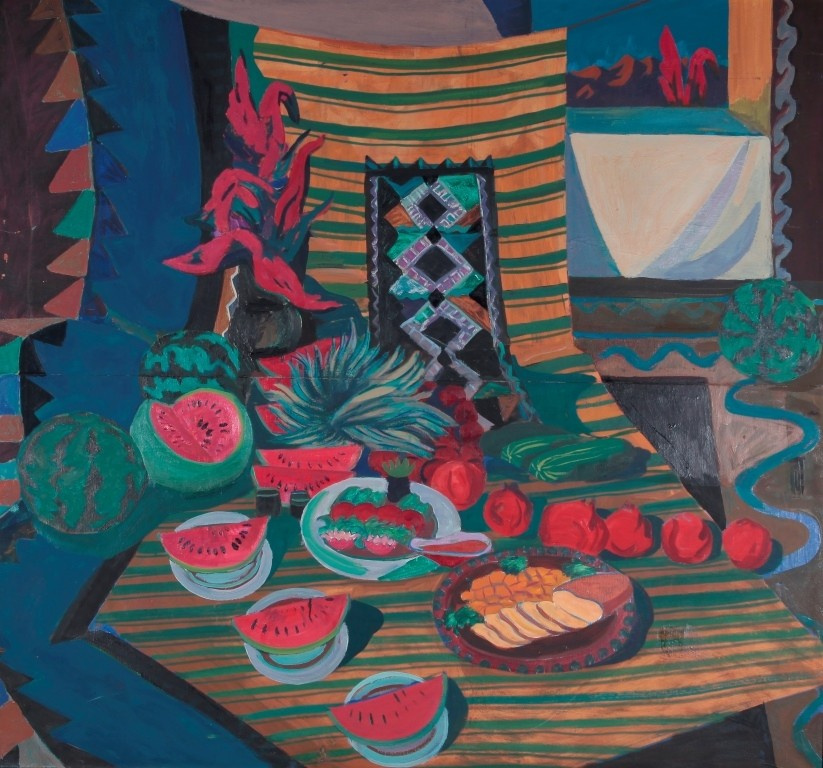 Tokbolat Tulenbaevich Togusbaev. Still life with watermelon