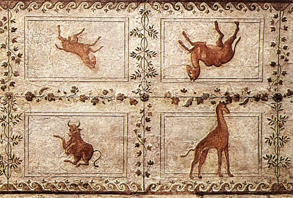 Рафаэль Санти. Животные. Украшение лоджии дворца понтифика в Ватикане