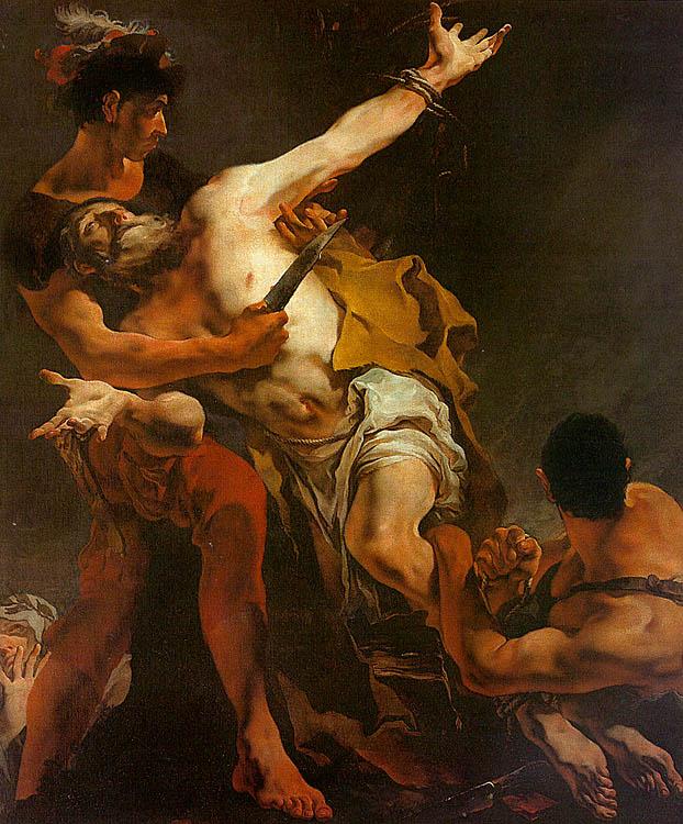 Джованни Баттиста Тьеполо. Мученичество Святого Варфоломея