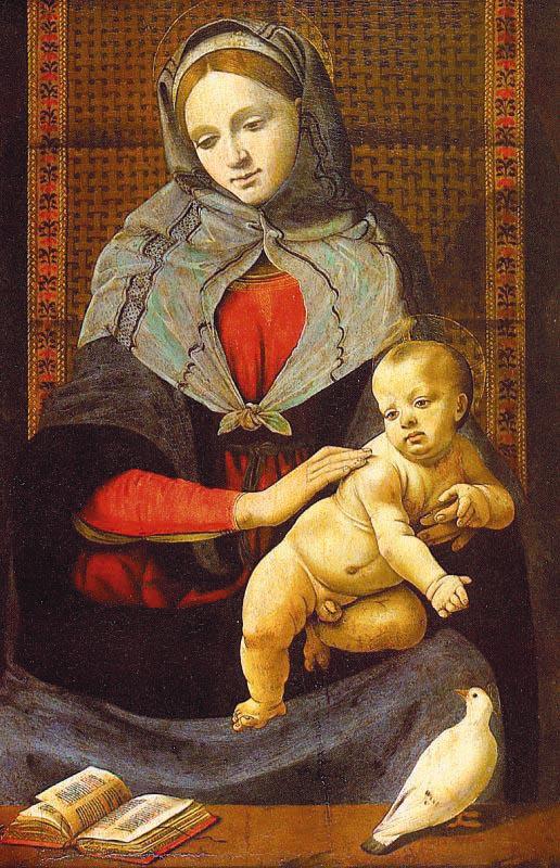 Пьеро ди Козимо. Дева с ребенком