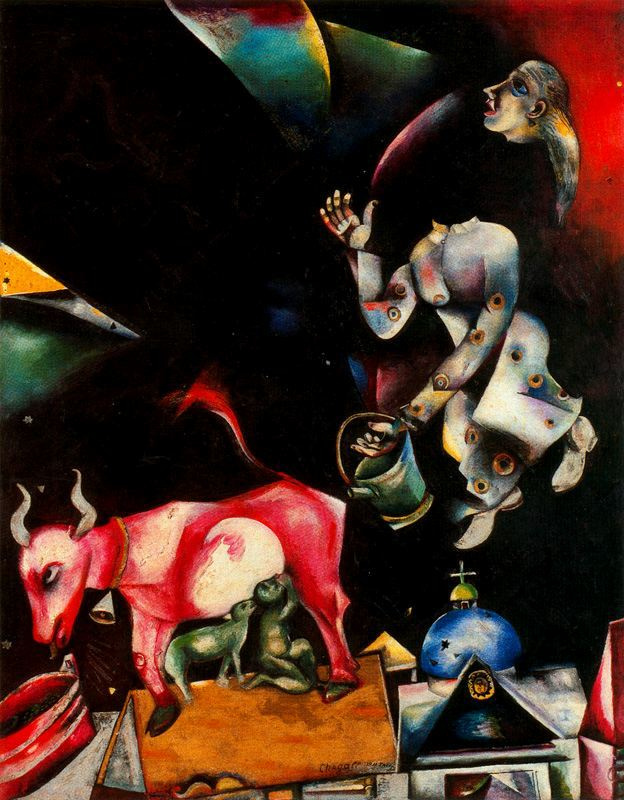 Marc Chagall. Russia, Asses and others