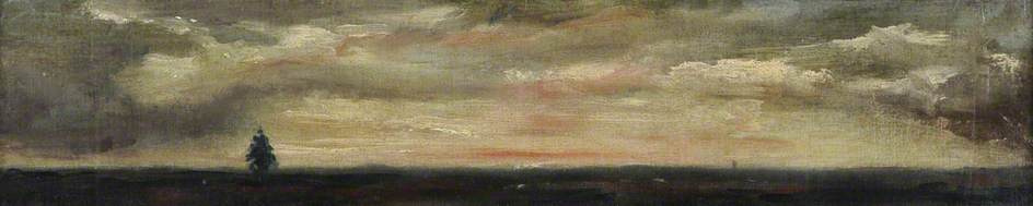 John Constable. Hampstead Heath