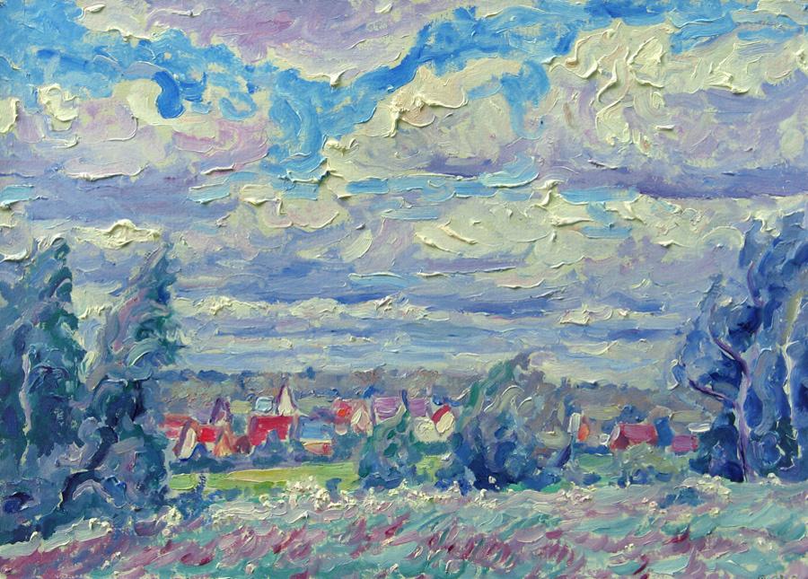 Alexey Vladimirovich Konstantinov. Gorodische village