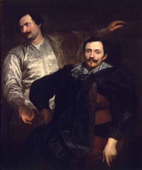 Anthony van Dyck. Artists Lucas and Cornelis de Val