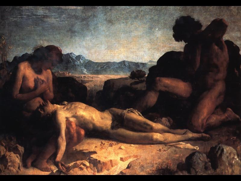 Leon Bonnat. Mourning