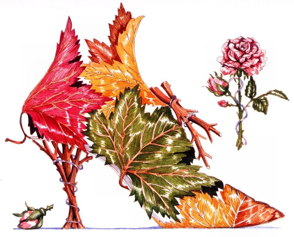 Dennis Kite. Maple leaf and rose