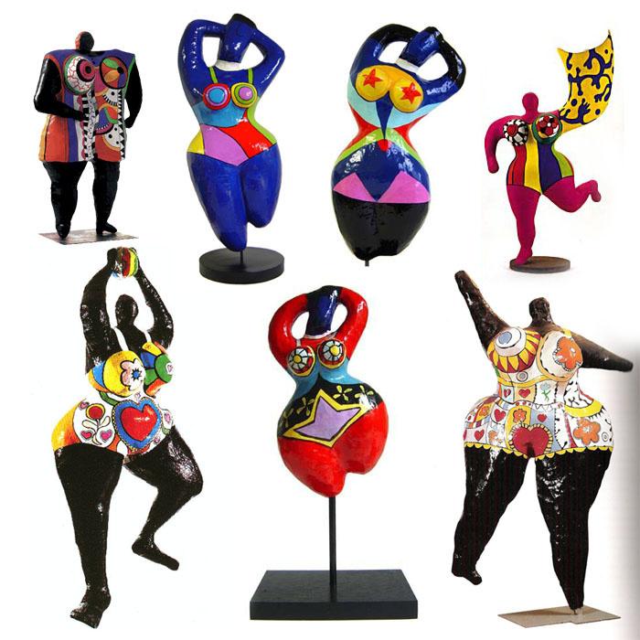 Niki de Saint Phalle. Nanas