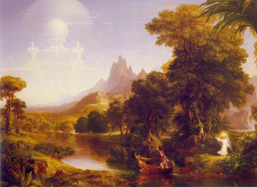 Thomas Cole. Voyage of life youth