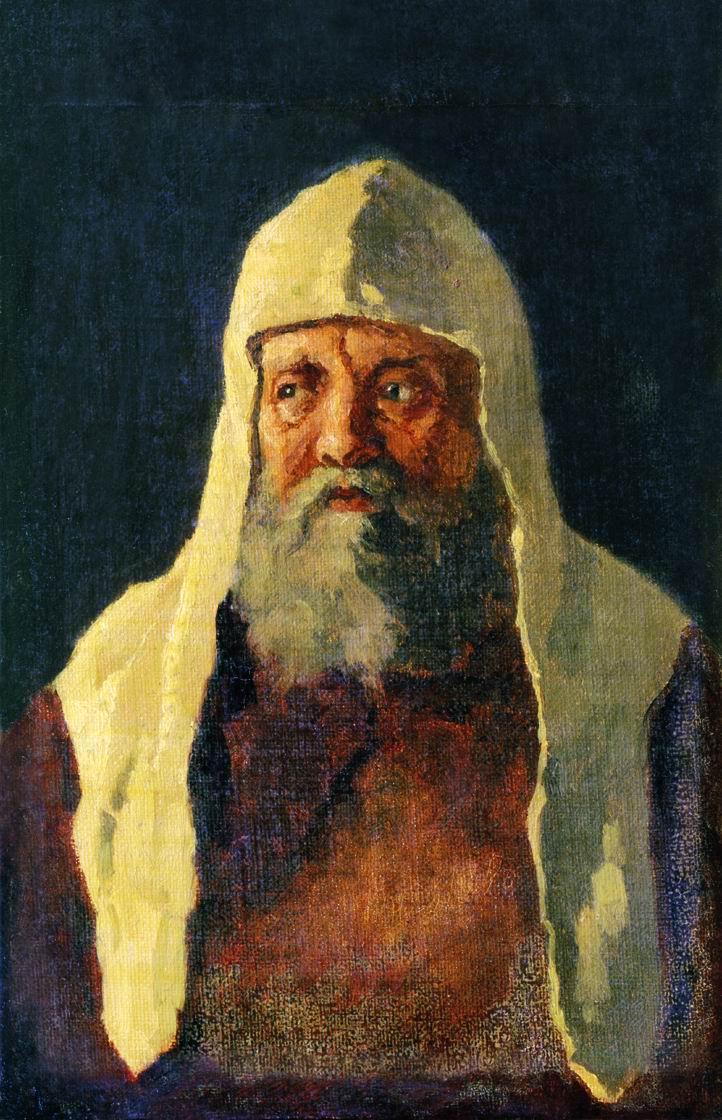 Nikolai Vasilyevich Nevrev. Patriarch Nikon.