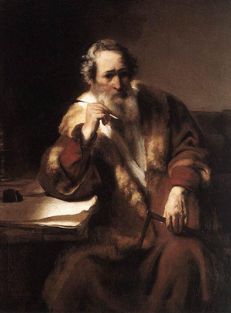 Nicholas Mas. The Apostle Thomas