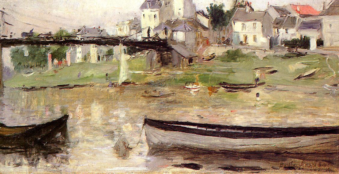 Берта Моризо. Лодки на Сене
