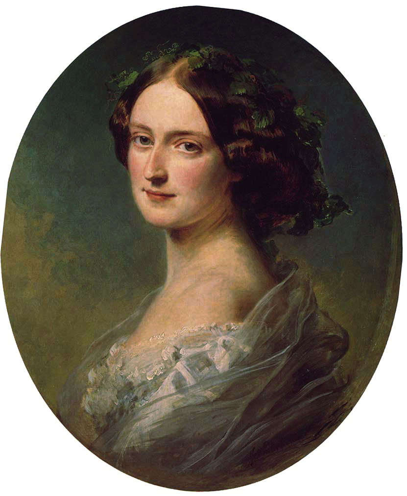 Franz Xaver Winterhalter. Lady Clementina Aug Wellington